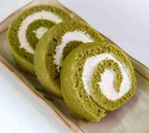 Matcha Swiss Roll - Whyzee Birthday Cake Delivery