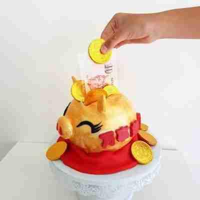Money Pull Cake