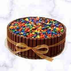 Kitkat M&m Cake - Whyzee Birthday Cake Delivery