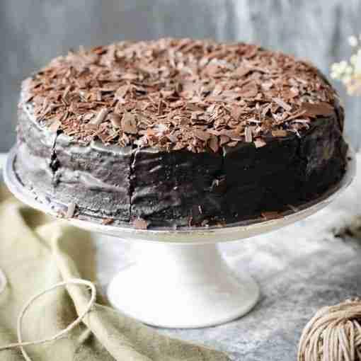 D24 Durian Chocolate Fudge Cake- Whyzee Birthday Cake Delivery