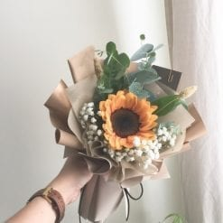 Walking on Sunshine – 1 Sunflower Bouquet