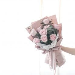 You & Me – Pink Rose Bouquet