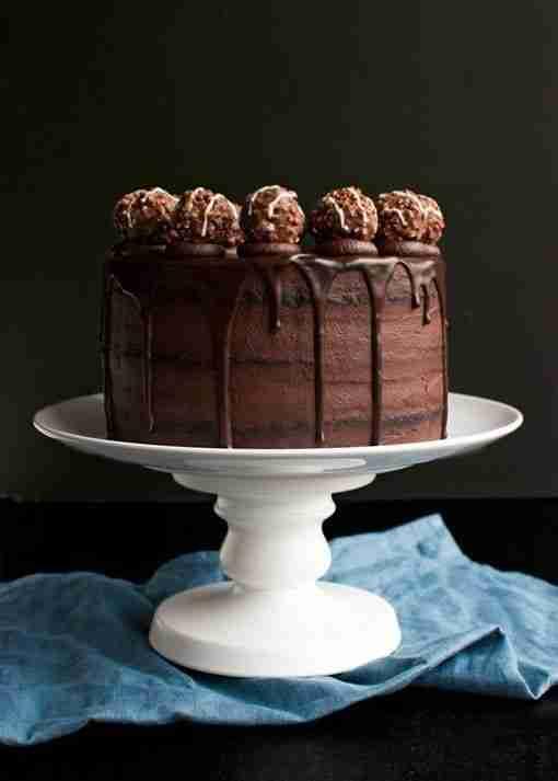 Triple Chocolate Fudge Cake - Whyzee Cake Delivery