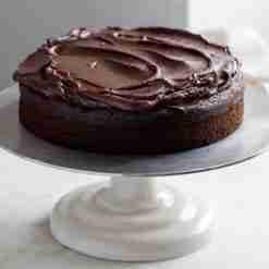Vegan Chocolate Fudge Cake - Whyzee Birthday Cake Delivery
