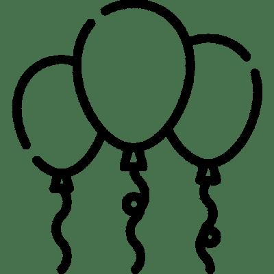 3 Balloons Icon