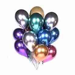 Chrome Latex Balloons
