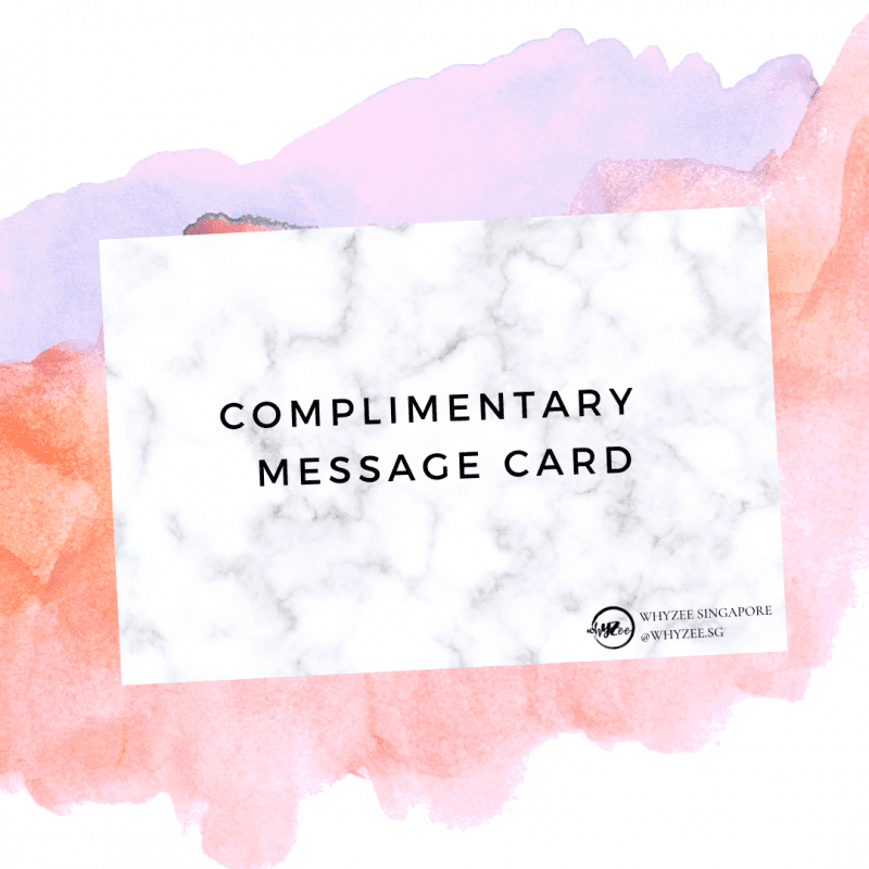 Free Complementary Message Card