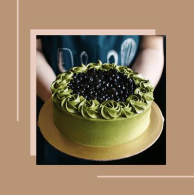 Edith Patisserie Matcha Cake