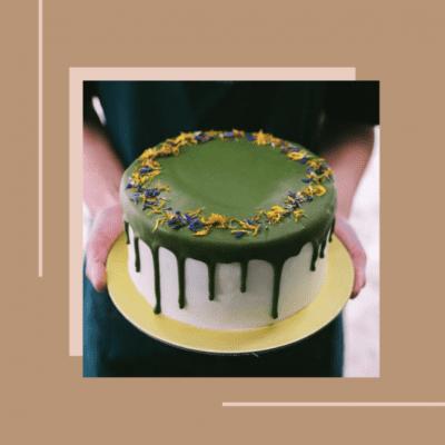 Edith Patisserie Matcha Drip Cake