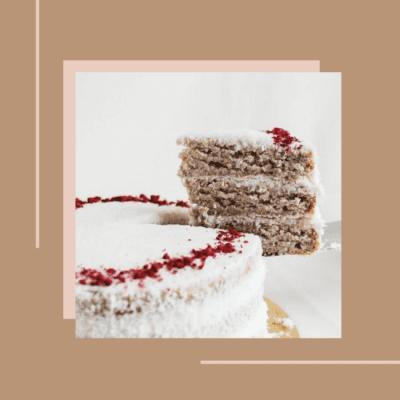 Edith Patisserie Vegan Cake