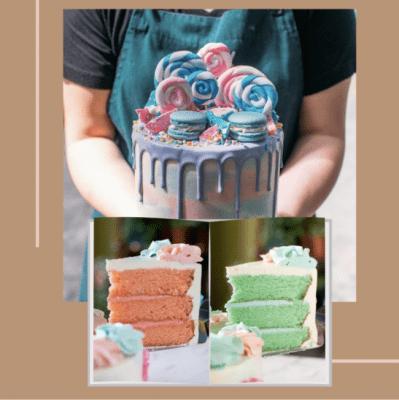 Edith Patisserie Customised Cake