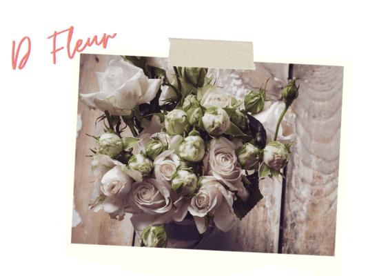 d fleur bouquet