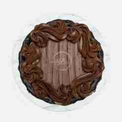 eggless chocolate cake top