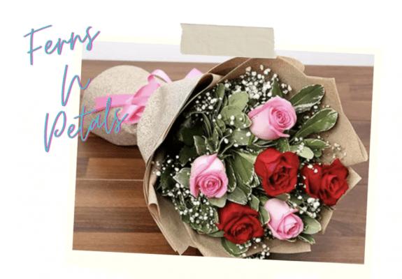 ferns n petals bouquet