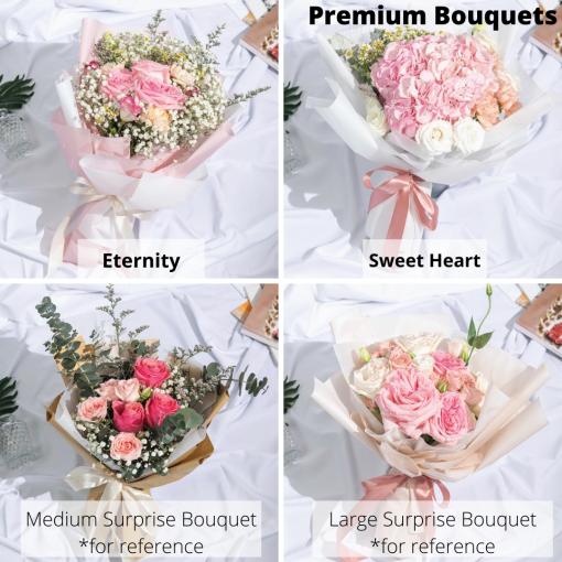 flower cake bundle - flowers