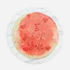hot romance cake top