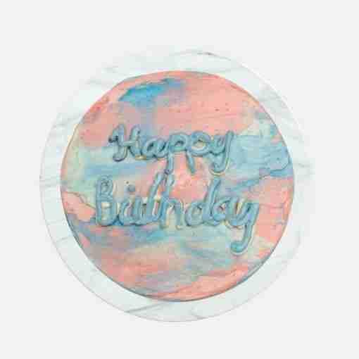 minimalistic cake top