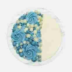tiffany blue cake top