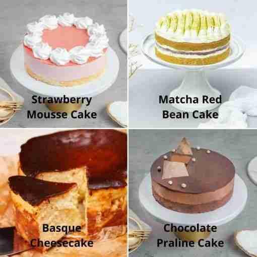 6 Inch Bundle Cake
