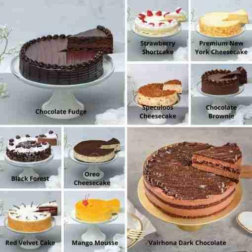8 Inch Bundle Cakes