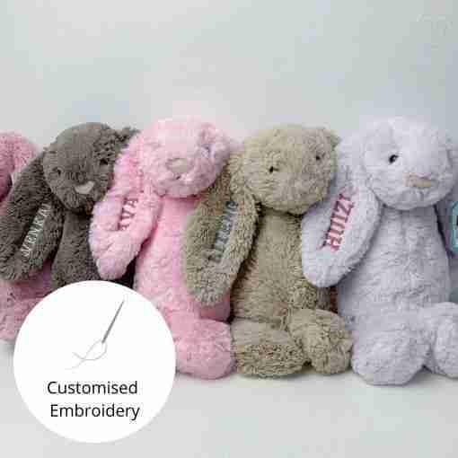 Customised Embroidery Plush Toy