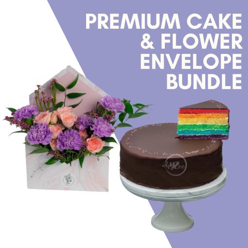 Premium Cake & Flower Bundle