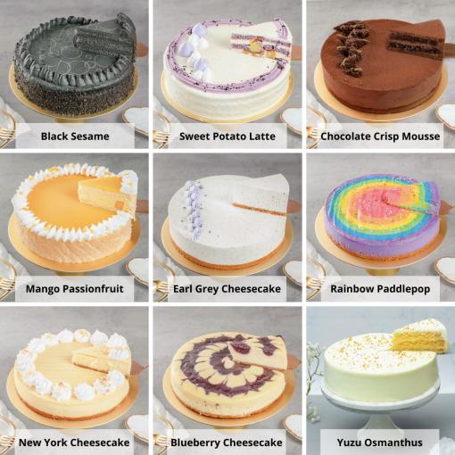 Premium Cake & Flower Bundle Cake Options 2