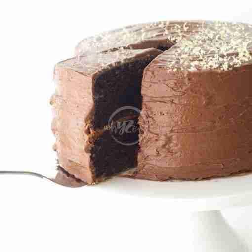 Premium Dark Chocolate Cake