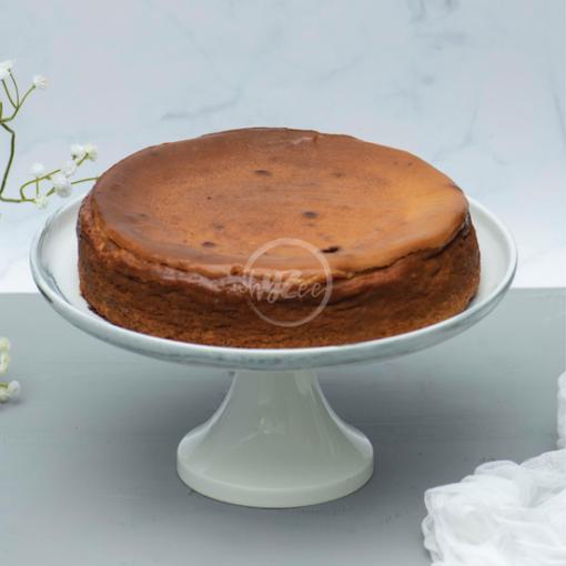 butterscotch basque cheesecake
