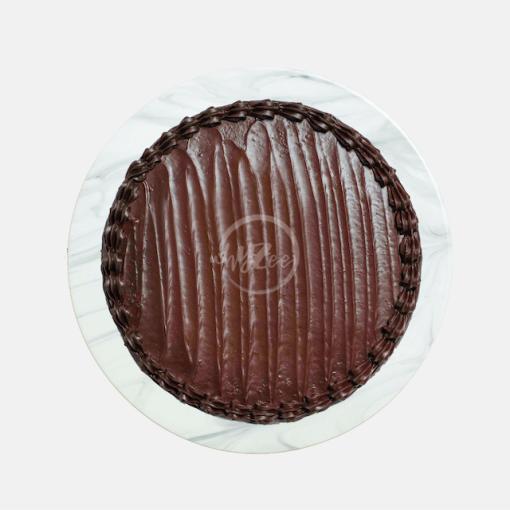 chocolate fudge cake top