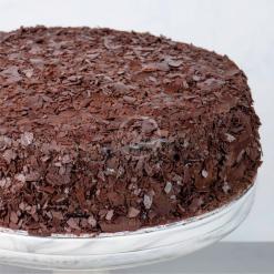 d24 chocolate fudge cake side