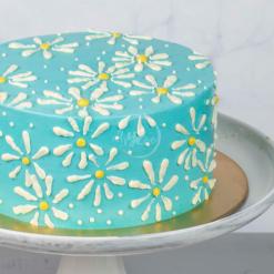daisy cake side
