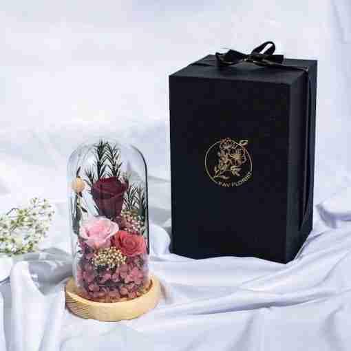 Everlasting Preserved Flower Dome