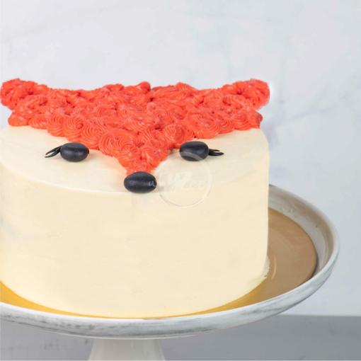 fox cake side
