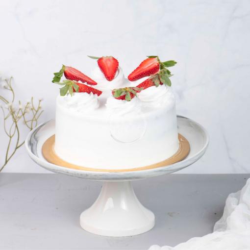 fresh cream eggless cake