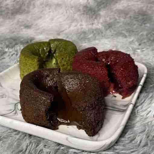 lava cake cross section