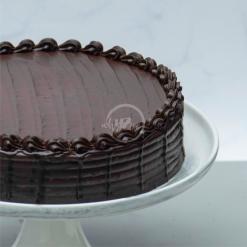 chocolate fudge cake side