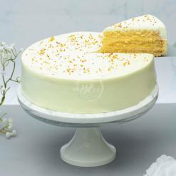 osmanthus yuzu cake slice