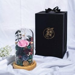 Secret Forest preserved flower dome | Whyzee Birthday Cake Delivery