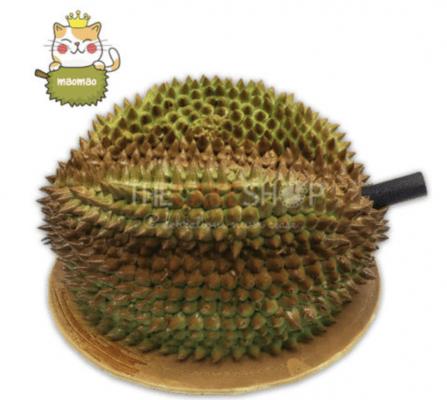3D durian cake