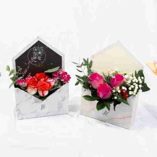 Surprise Marble Envelope Box