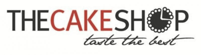 the cake shop logo