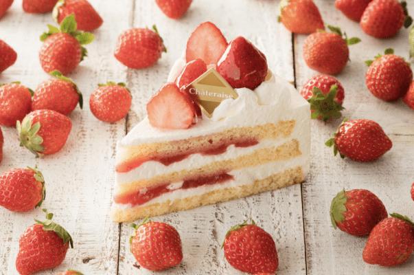 chateraise fresh cream cake