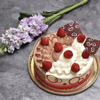 chateraise half&half cake