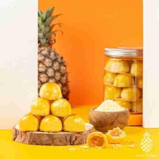 Cheezylicious – Cheese Pineapple Tarts 起司黄梨塔