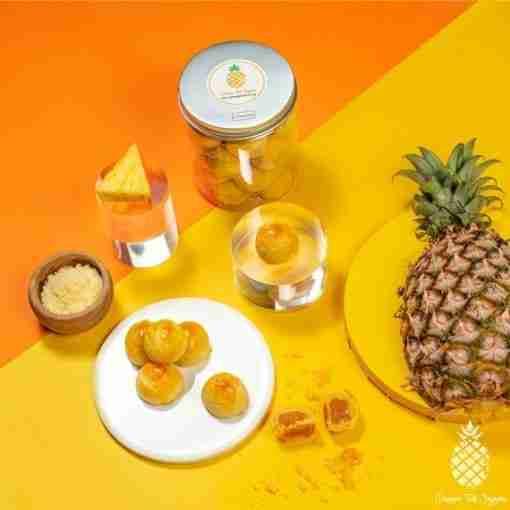Cheezylicious – Cheese Pineapple Tarts 起司黄梨塔 Top
