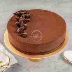 Chocolate Crisp Mousse Cake