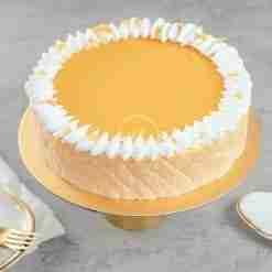Mango Passionfruit Mousse Cake