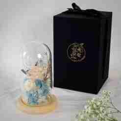 Ice Princess Preserved Flower Dome