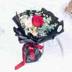 Adoring Touch Rose Bouquet